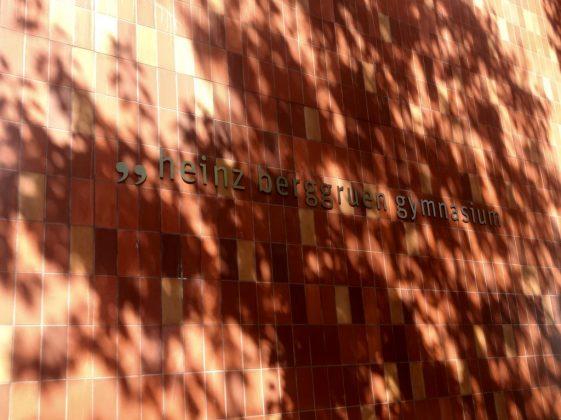 HBGym Schriftzug am Gebäude
